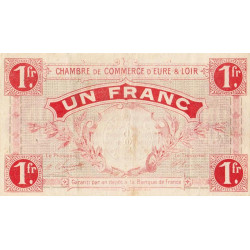 Chartres (Eure-et-Loir) - Pirot 45-03 - 1 franc - Etat : TB+