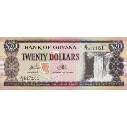 Guyana - Pick 30e_1 - 20 dollars - 2010 - Série C - Etat : NEUF