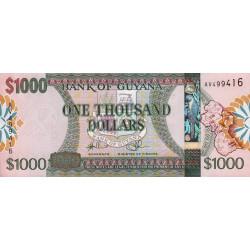 Guyana - Pick 38b - 1'000 dollars - 2011 - Série AV - Etat : NEUF
