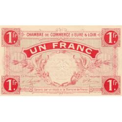 Chartres (Eure-et-Loir) - Pirot 45-3 - 1 franc - 01/10/1915 - Etat : NEUF