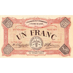 Chartres (Eure-et-Loir) - Pirot 45-07 - 1 franc - Etat : SPL+