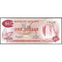 Guyana - Pick 21d - 1 dollar - 1983 - Série A - Etat : pr.NEUF