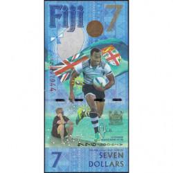Fidji - Pick 120r (remplacement) - Série AZ - 7 dollars - 2016 - Commémoratif - Etat : NEUF