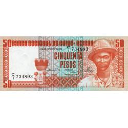 Guinée Bissau - Pick 5 - 50 pesos - 28/02/1983 - Etat : NEUF