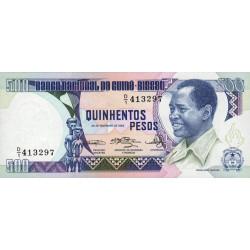 Guinée Bissau - Pick 7 - 500 pesos - 28/02/1983 - Etat : NEUF
