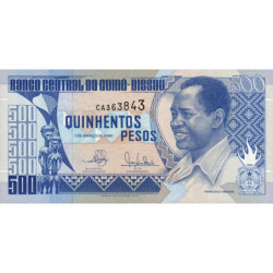 Guinée Bissau - Pick 12 - 500 pesos - 01/03/1990 - Etat : NEUF