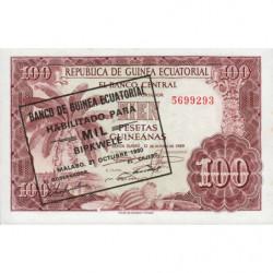 Guinée Equatoriale - Pick 18 - 1'000 bipkwele - 21/10/1980 - Etat : pr.NEUF