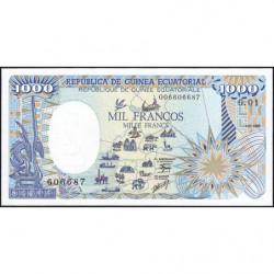 Guinée Equatoriale - Pick 21 - 1'000 francs - 01/01/1985 - Etat : NEUF