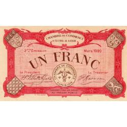 Chartres (Eure-et-Loir) - Pirot 45-10 - 1 franc - 1920 - Etat : SPL+