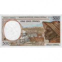 Guinée Equatoriale - Afr. Centrale - Pick 501Ng - 500 francs - 2000 - Etat : NEUF