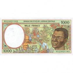 Guinée Equatoriale - Afr. Centrale - Pick 502Nc - 1'000 francs - 1995 - Etat : NEUF