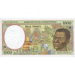 Guinée Equatoriale - Afr. Centrale - Pick 502Nh - 1'000 francs - 2000 - Etat : NEUF