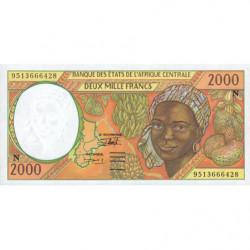 Guinée Equatoriale - Afr. Centrale - Pick 503Nc - 2'000 francs - 1995 - Etat : NEUF