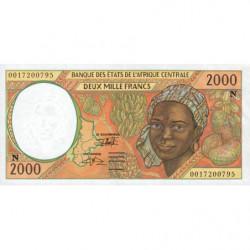 Guinée Equatoriale - Afr. Centrale - Pick 503Ng - 2'000 francs - 2000 - Etat : NEUF
