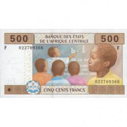 Guinée Equatoriale - Afr. Centrale - Pick 506Fa - 500 francs - 2002 - Etat : NEUF