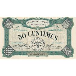 Chartres (Eure-et-Loir) - Pirot 45-11 - 50 centimes - 01/1921 - Etat : SUP+