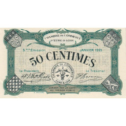 Chartres (Eure-et-Loir) - Pirot 45-11 - 50 centimes - 1921 - Etat : SUP+