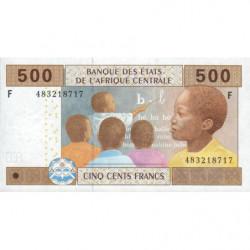 Guinée Equatoriale - Afr. Centrale - Pick 506Fb - 500 francs - 2002 (2010) - Etat : NEUF