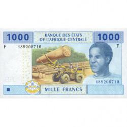 Guinée Equatoriale - Afr. Centrale - Pick 507Fb - 1'000 francs - 2002 (2010) - Etat : NEUF