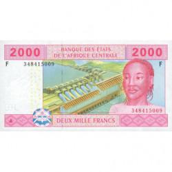 Guinée Equatoriale - Afr. Centrale - Pick 508Fb - 2'000 francs - 2002 (2010) - Etat : NEUF