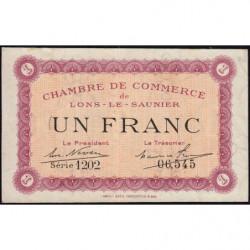 Lons-le-Saunier - Pirot 74-13 - 1 franc - Série 1202 - Sans date - Etat : SUP