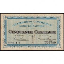 Lons-le-Saunier - Pirot 74-16 - 50 centimes - Série BT - Sans date - Etat : TTB-