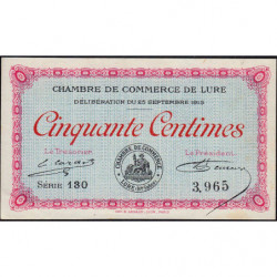 Lure - Pirot 76-1 - Série 130 - 50 centimes - 1915 - Etat : SPL