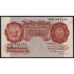 Grande-Bretagne - Pick 362c2 - 10 shillings - 1934 - Etat : TTB-