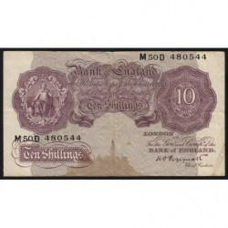 Grande-Bretagne - Pick 366 - 10 shillings - 1940 - Etat : TB