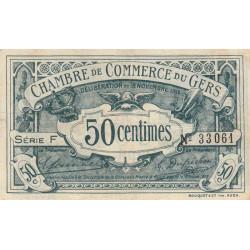 Auch (Gers) - Pirot 15-5-F - 50 centimes - 1914 - Etat : TTB