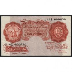 Grande-Bretagne - Pick 368b2 - 10 shillings - 1950 - Etat : TB+