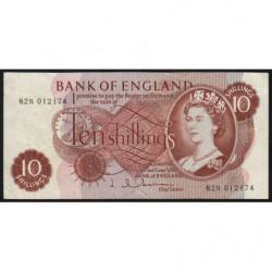 Grande-Bretagne - Pick 373b2 - 10 shillings - 1963 - Etat : TTB-