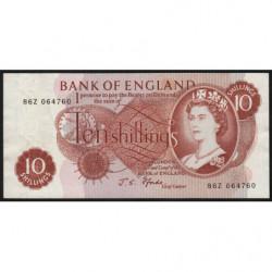 Grande-Bretagne - Pick 373c1 - 10 shillings - 1967 - Etat : SUP