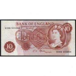 Grande-Bretagne - Pick 373c2 - 10 shillings - 1967 - Etat : SUP