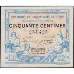 Lyon - Pirot 77-3 - 50 centimes - Sans série - 09/09/1915 - Etat : NEUF