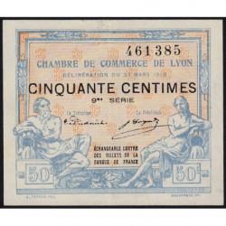 Lyon - Pirot 77-16 - 50 centimes - 9ème série - 1918 - Etat : SPL