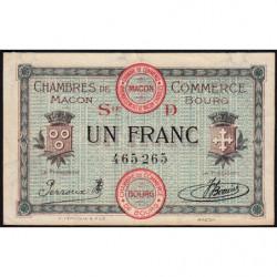 Macon et Bourg - Pirot 78-10 - 1 franc - 1917 - Etat : SUP