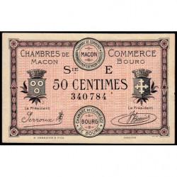Macon et Bourg - Pirot 78-11 - 50 centimes - Série E - 27/04/1920 - Etat : SUP