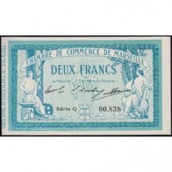 Marseille - Pirot 79-18 variété - 2 francs - Série Q - 12/08/1914 - Etat : NEUF