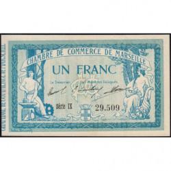 Marseille - Pirot 79-49 variété - Série IX - 1 franc - 1915 - Etat : pr.NEUF