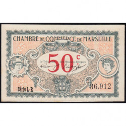 Marseille - Pirot 79-67 - 50 centimes - Série L-R - 05/06/1917 - Etat : pr.NEUF