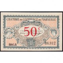 Marseille - Pirot 79-67 - Série L-R - 50 centimes - 1917 - Etat : pr.NEUF