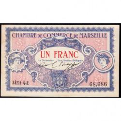 Marseille - Pirot 79-70  - 1 franc - Série Q-R - 05/06/1917 - Etat : SPL