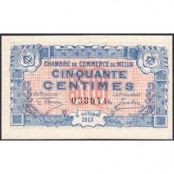 Melun - Pirot 80-1 - 50 centimes - 1917 - Etat : SUP+