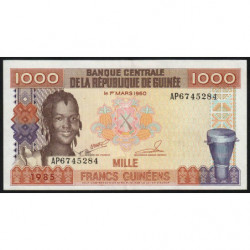 Guinée - Pick 32_2 - 1'000 francs guinéens - 1985 - Etat : SUP
