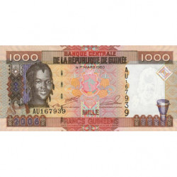Guinée - Pick 40 - 1'000 francs guinéens - 2006 - Etat : NEUF