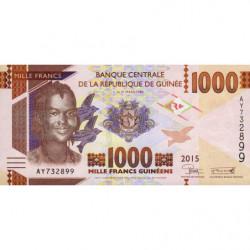 Guinée - Pick 48 - 1'000 francs guinéens - 2015 - Etat : NEUF