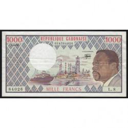 Gabon - Pick 3d_1 - 1'000 francs - 1978 - Etat : TTB+