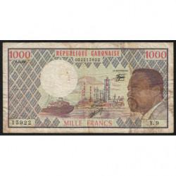 Gabon - Pick 3d_1 - 1'000 francs - 1978 - Etat : TB-