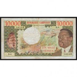 Gabon - Pick 5b - 10'000 francs - 1978 - Etat : TTB-